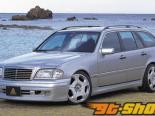 Auto Couture Side Step 01 Mercedes-Benz C-Class W202 95-00