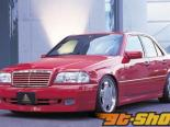 Auto Couture Side Step 03 Mercedes-Benz C-Class W202 95-00