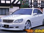Auto Couture передний  бампер 02 Mercedes-Benz S-Class W220 99-05