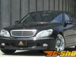 Auto Couture Side Step 01 Mercedes-Benz S-Class W220 99-05