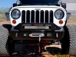 Addictive Desert Designs Stealth Fighter передний  Center бампер With Winch Mounts Jeep Wrangler JK 07-14