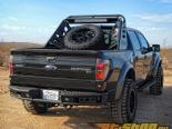 Addictive Desert Designs LED Dimple R задний бампер Set Up для Duallys In Hammer Чёрный Ford Raptor 10-14