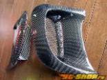 RE Amemiya Wet Карбон крылья Mazda RX-7 FD3S 93-02