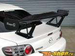 RE Amemiya FRP GT-Wing GTIII LOW Mazda RX-8 03-11