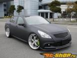 Access Evolution MC after EXS Передняя губа Спойлер (Карбон) Infiniti G37 07-13