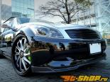 Access Evolution MC before EXS Передняя губа Спойлер (Карбон) Type B Infiniti G37 07-13