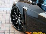 AimGain крылья Duct 01 Lexus GS350 06-07