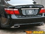 AimGain JUN VIP задняя Finisher Lexus LS Series LS460|600h|600hl Before M|C 06-13