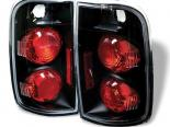 Задние фонари на Chevrolet Blazer 95-01 Altezza Black: Spyder