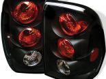 Задняя оптика для Chevrolet Trail Blazer 02-04 Altezza Чёрный: Spyder