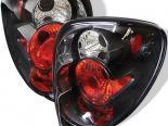 Задняя оптика для Dodge Caravan 01-04 Altezza Black: Spyder