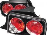 Задние фары для Ford Mustang 05-09 Altezza Чёрный : Spyder