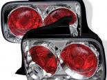 Задняя оптика на Ford Mustang 05-09 Altezza Хром : Spyder