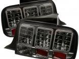 Задняя оптика для Ford Mustang 05-09 Тёмный : Spyder