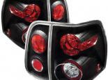 Задние фары для Lincoln Navigator 03-07 Altezza Black : Spyder