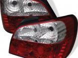 Задние фары на Subaru Impreza WRX 02-03 Красный : Spyder