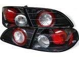 Задние фары на Toyota Corolla 98-02 Altezza Карбон: Spyder
