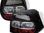 Задняя оптика для Volkswagen Golf 99-04 Чёрный : Spyder