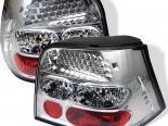 Задние фонари на Volkswagen Golf 99-04 Хром : Spyder