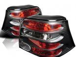 Задние фары для Volkswagen Golf 99-04 Altezza Чёрный : Spyder
