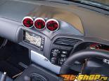 Car Garage Amis Meter Cover|Meter капот Чёрный Painted Honda S2000 00-09
