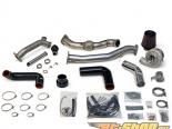 AMS Performance Rotated Mount 750R V band Turbo комплект with 38mm Wastegate Flanges and HFC Pipe Subaru WRX | STI 02-07