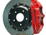 AP Тормозная система передний  Красный 96-01 A4 / 98-05 Passat 1.8t 4-поршневые 2pc 13