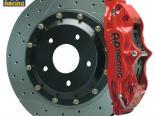 AP Тормозная система передний  Красный 2/99-02 S4 / 02-7/04 A4 / 02-04 A6 Exc. Quattro 4-поршневые 2pc 13