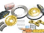 AP Track Тормозная система передний  Blk 03-07 350z / G35 Coupe / 03-06 G35 седан 6-поршневые 2pc 14