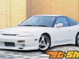 Aero Palece передний  бампер 03 Nissan 240SX S13 89-94