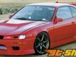 Aero Palece передний  бампер 02 Nissan 240SX S14 95-98