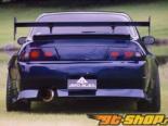 Aero Palece задний Garnish|задний решетка 01 Nissan Skyling R33 седан 95-98