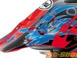 Arai VX-Pro3 Replacement Wingflame Красный Синий Peak Visor
