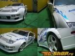 Auto Real Over крылья   Trim(F&R) 02 Nissan 300ZX 90-96