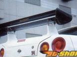 AutoSelect Japan задний Wing | задний Спойлер 01 - Карбон - Nissan Skyline GT-R R34 99-02