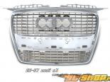 Решётка радиатора для AUDI A4 06-07 стандартный Хром