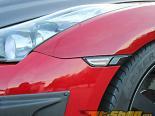 ChargeSpeed передний  бампер LED Turn Signal | LED Tube Красный ABS Nissan GTR R35 09-15