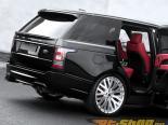 Kahn Design RS 600 Luxury Edition Карбон Composite задний бампер with Exposed выхлоп диффузор Land Rover Range Rover 13-14