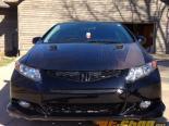 Advan Карбон стандартный Стиль Карбоновый передний  Крылья Honda Civic Coupe 06-11