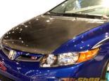 Advan Карбон стандартный Стиль Карбоновый капот Honda Civic Coupe 06-11