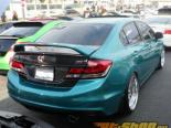 Advan Карбон багажник из карбона Honda Civic седан 12-15