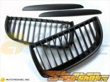 AutoTecknic Matte Чёрный полный Replacement Решетка радиатора BMW E90 седан | E91 Wagon | 3 Series Pre-Facelift 06-08