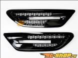 AutoTecknic Replacement ABS Gloss Чёрный крылья Vents BMW F10 седан | M5 11-14