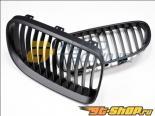 AutoTecknic Replacement ABS Matte Чёрный передний  Grilles BMW E92 Coupe | E93 Cabrio | 3 Series LCI 08-11
