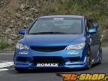 BOMEX передний  бампер 01 Honda Civic TypeR FD2 07-10