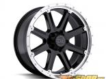 Чёрный Rhino Moab Gloss Чёрный with Machine Lip Диски 17x9 8x180 +12mm