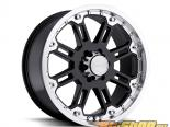 Чёрный Rhino Rockwell Gloss Чёрный with Machine Lip Диски 17x9 6x135 -12mm