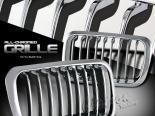 Решётка радиатора для BMW E36 92-96 SPORT Чёрный хром