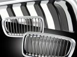 Решётка радиатора на BMW 95-02 Чёрный хром