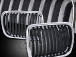 Решётка радиатора на  BMW E36 97-98 Чёрный хром